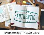 financial trade economics... | Shutterstock . vector #486352279