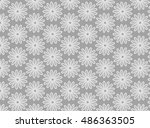 abstract background gray and... | Shutterstock .eps vector #486363505