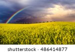 Colorful Rainbow After The...