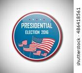 usa presidential election...   Shutterstock .eps vector #486418561