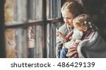 family mother and child... | Shutterstock . vector #486429139