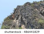 nature of thailand at the day ... | Shutterstock . vector #486441829