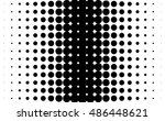 gradient background with dots... | Shutterstock .eps vector #486448621