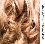 background of beautiful woman's ... | Shutterstock . vector #486454285