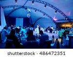 wedding couple in the... | Shutterstock . vector #486472351