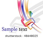 the vector abstract color... | Shutterstock .eps vector #48648025