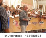 Small photo of Giffoni Valle Piana, Sa, Italy - July 23, 2014: Alan Rickman at Giffoni Film Festival 2014 - on July 23, 2014 in Giffoni Valle Piana, Italy