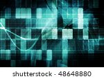 security network data of the... | Shutterstock . vector #48648880