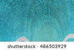 colorful art decor element... | Shutterstock . vector #486503929