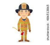 people profession character.... | Shutterstock .eps vector #486513865