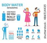 drink infographic | Shutterstock .eps vector #486514435