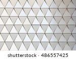 abstract 3d illustration... | Shutterstock . vector #486557425