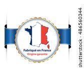 made in france  protected... | Shutterstock .eps vector #486560344