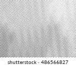 halftone illustrator. black and ... | Shutterstock .eps vector #486566827