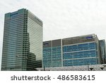 Small photo of LONDON, ENGLAND - JULY 7, 2016: KPMG UK Headquarter. KPMG based in Canary Wharf is a leading provider of financial services and is the largest accounting firm in Europe.