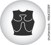 old iron cuirass symbol sign...   Shutterstock .eps vector #486620389