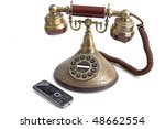 Old  And New  Mobile Telephone