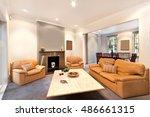 modern living room | Shutterstock . vector #486661315