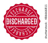 Discharged Rubber Stamp. Grung...