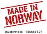 made in norway stamp. norway...   Shutterstock .eps vector #486669529