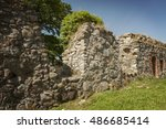 Image Of A Ruined Wall Section...