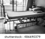 blurred pateint room in hospital | Shutterstock . vector #486690379