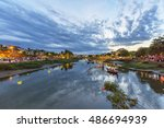 hoi an  vietnam   july 17  2015 ... | Shutterstock . vector #486694939