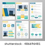 vector multicolour template for ... | Shutterstock .eps vector #486696481