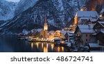 Winter View Of Hallstatt  ...
