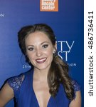 Small photo of New York, NY, USA - September 18, 2016: Laura Osnes attends the 'Beauty and The Beast' 25th Anniversary Screening at Alice Tully Hall, Lincoln Center, Manhattan