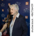 Small photo of New York, NY, USA - September 18, 2016: Angela Lansbury attends the 'Beauty and The Beast' 25th Anniversary Screening at Alice Tully Hall, Lincoln Center, Manhattan