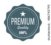 vintage badges   Shutterstock .eps vector #486745795