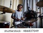 live music | Shutterstock . vector #486837049