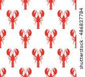 Lobster Seamless Pattern....