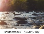 Small photo of sunlight above water