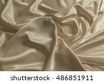 Texture Of The Satin Fabric...