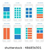 wireframe mobile app ui kit....