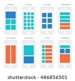 wireframe mobile app ui kit....
