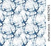 seamless abstract pattern.... | Shutterstock . vector #486874291