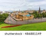 edinburgh  scotland   september ... | Shutterstock . vector #486881149