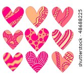 heart collection   Shutterstock . vector #48688225