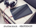 tablet pc mockup | Shutterstock . vector #486900439