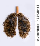 sting snuff shaped lungs burned ...   Shutterstock . vector #486928465