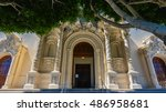 Entrance To Mission Dolores...