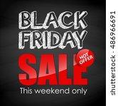 black friday sale    Shutterstock . vector #486966691