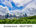 shenzhen  china   september ... | Shutterstock . vector #486975895