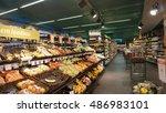 innsbruck  austria   july 2016  ... | Shutterstock . vector #486983101