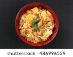 Oyakodon  Chicken And Egg Bowl...
