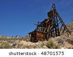 Abandoned Head Frame At An Old...