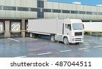 cargo transportation   truck in
